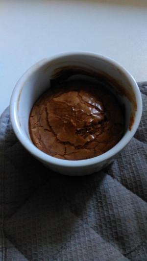 Warme Schokoladenküchlein